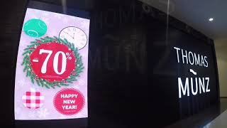 """Видеоэкран для сети магазинов """"Thomas Münz"""", ТЦ """"Мега Белая Дача"""", г. Москва, Р3"""
