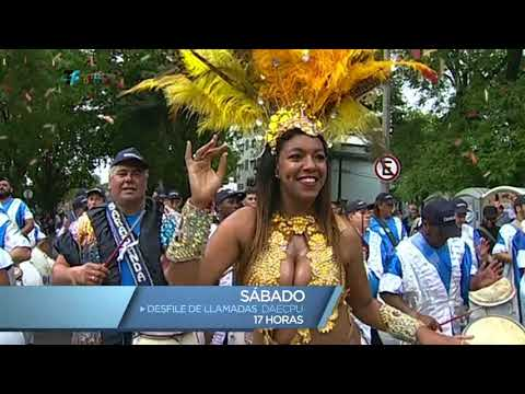 Desfile de Llamadas DAECPU