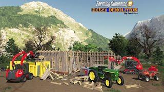HOUSE DÉMOLITION 2/4 | Farming Simulator 19
