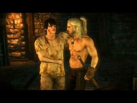 Aryan La Valette: Geralt Spares Knight's Life (Witcher 2 | Castle Assault)