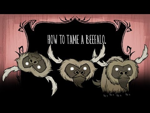 How to tame a Beefalo - YouTube