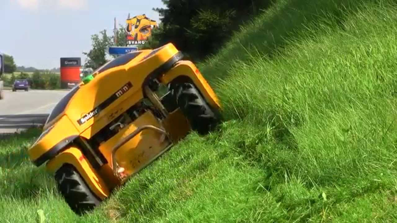 Extreme Lawn Mower Spider Mini Rc Youtube