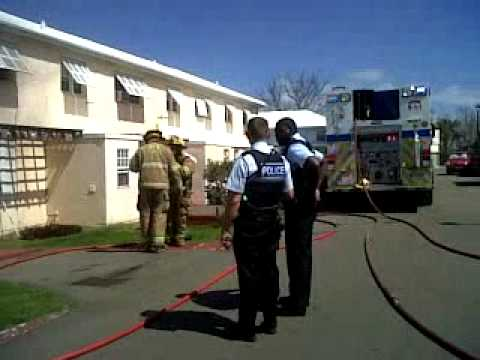 Bermuda Fire Respond to Cedar Park, March 14, 2011