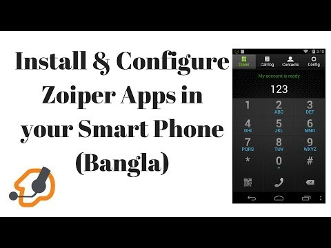 Install & Configure Zoiper Apps In Your Smart Phone (বাংলা)