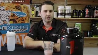 Mass Nutrition Manly discovers RULE1 Protein(We break down Rule 1 Hydrolized whey. could this be the best protein on the market to date?. We're gonna help you FUEL YOUR FIRE., 2016-08-12T02:26:19.000Z)