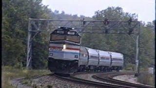Amtrak in Upstate NY,  1998 - Part 1