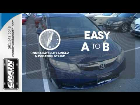 Used 2009 Honda Civic Sdn North Little Rock AR Jacksonville, AR #6HN9009A    SOLD