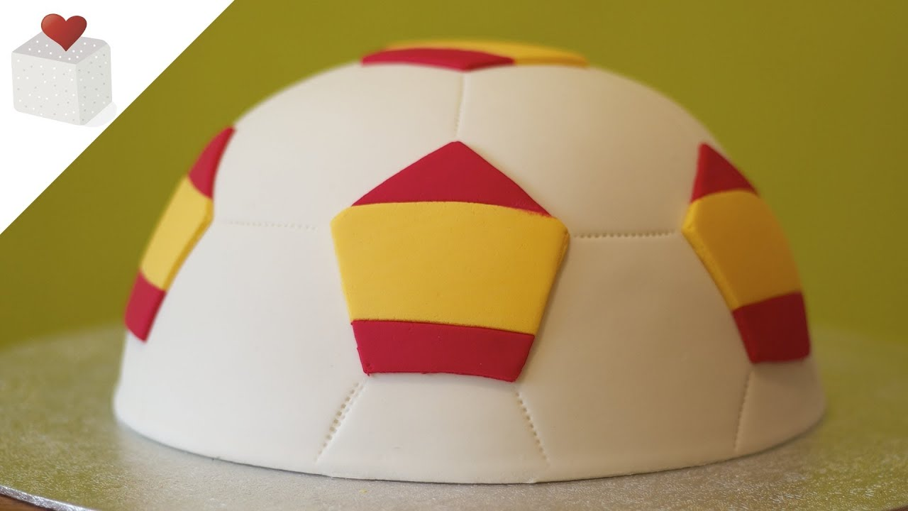 Soccer ball fondant cake - FIFA World Cup 2014  351bca87b8b84