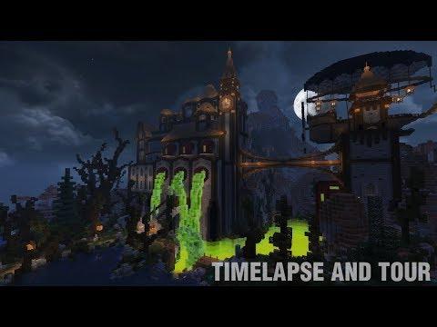 Slime Manor | Timelapse and Tour with Mumbo Jumbo