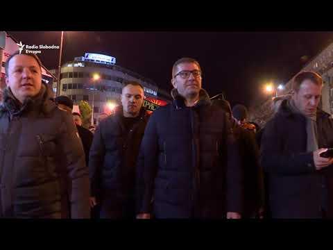 Protest opozicionog VMRO u Skoplju