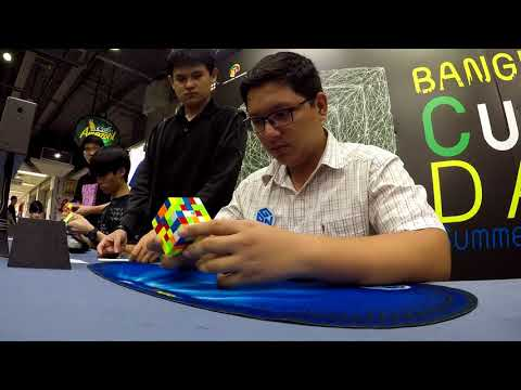 59.67 Official 5x5 Average!! [Bangkok Cube Day Summer 2018]