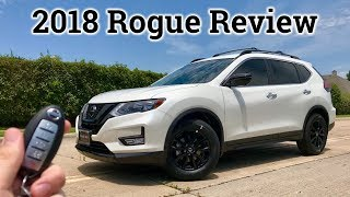 Full Review: Midnight 2018 Nissan Rogue SV W/Premium Package