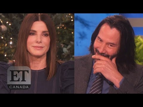 Sandra Bullock And Keanu Reeves' Almost Romance