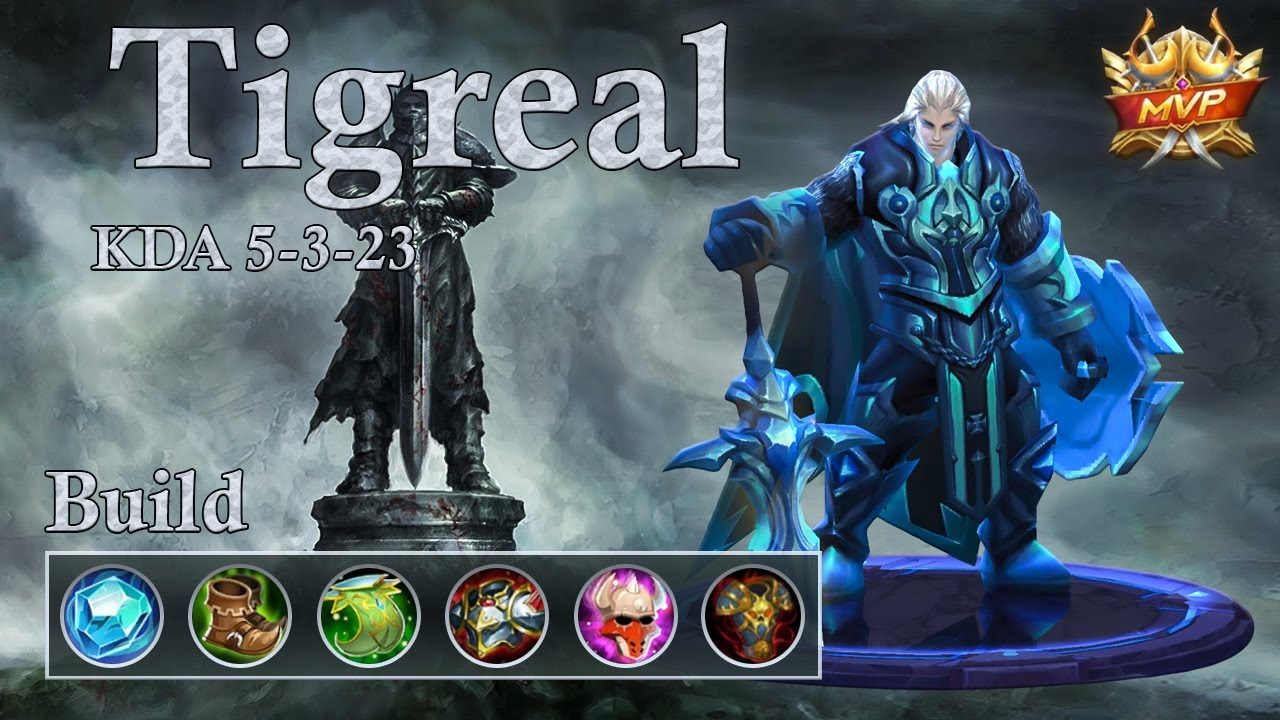 Mobile Legends Tigreal Ranked Push Them All Under Your Tower Youtube