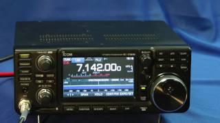 icom ic 7300 transceiver