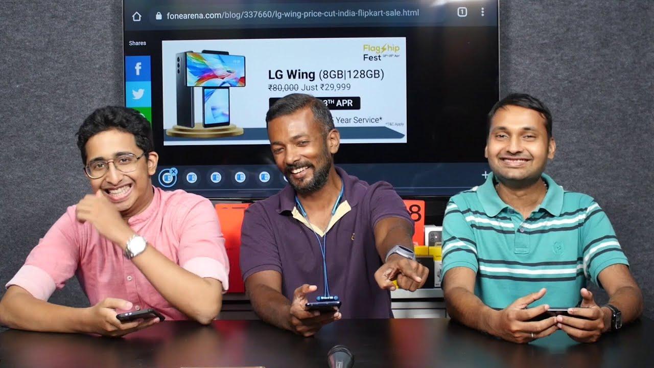 LG Wing @ 29999, Galaxy S21 FE render, Mi 11X series on Apr 23, Pixel 5a cancelled?   TVT # 577