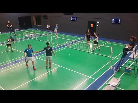 SWISS BADMINTON NL A: BC ZÜRICH VS BLA LAUSANNE Men's Double