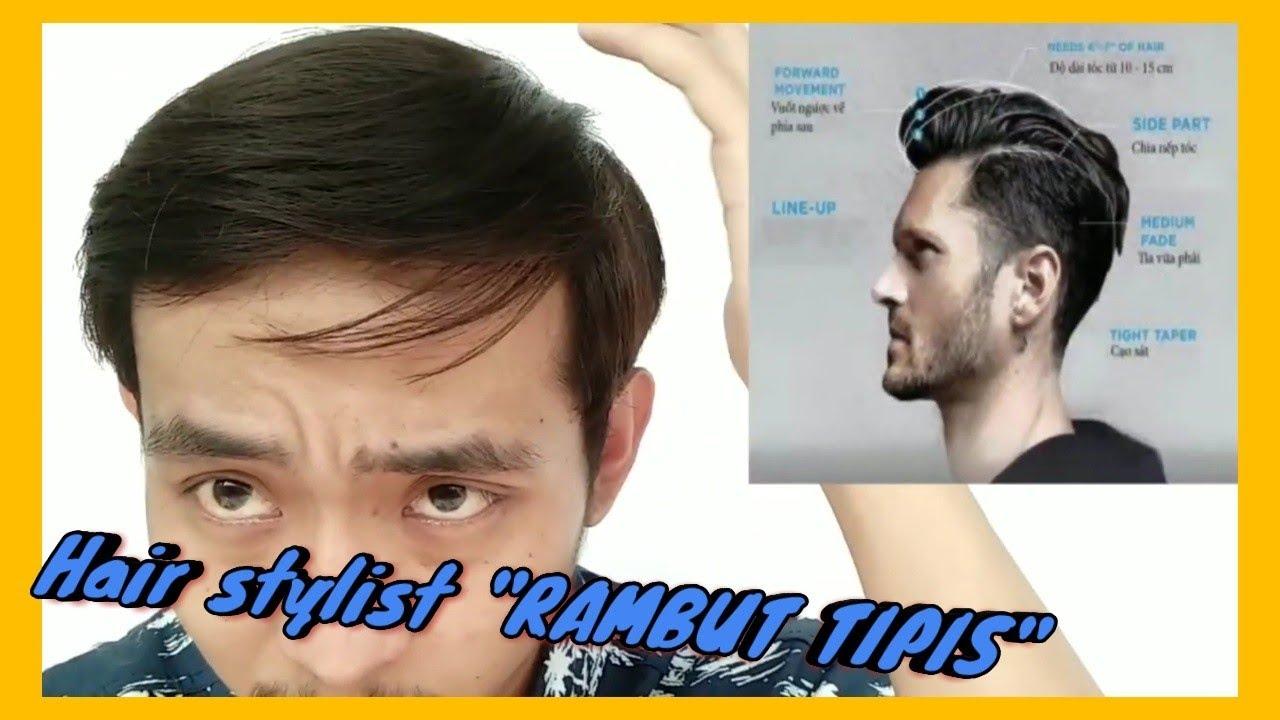 Gaya Rambut Pria Yang Cocok Untuk Rambut Tipis Lepek Youtube