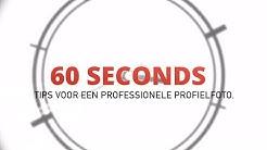 60 seconds: Tips voor een professionele profielfoto
