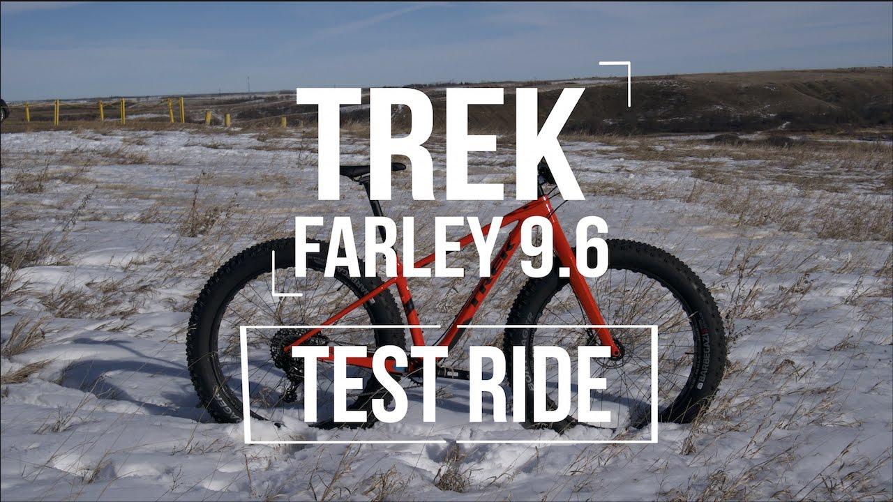 2017 trek farley 9 6 test ride youtube. Black Bedroom Furniture Sets. Home Design Ideas