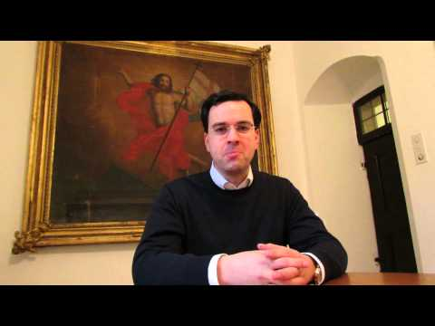 [english] Fr. Riccardo interviews Axel Flierl - Jerusalem 29.11.2014