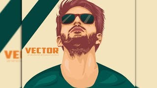 Adobe Illustrator Pen Tool Tutorial - Male Vector