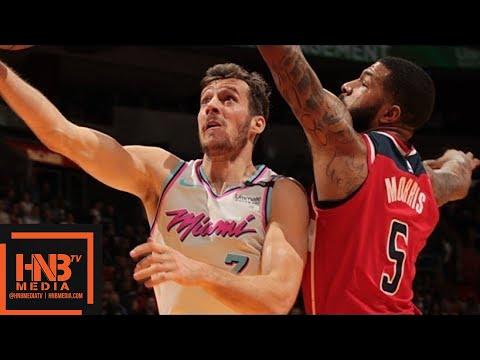 Download Youtube: Miami Heat vs Washington Wizards Full Game Highlights / March 10 / 2017-18 NBA Season