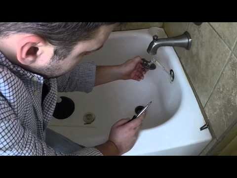 How to clear hair clogged pipes