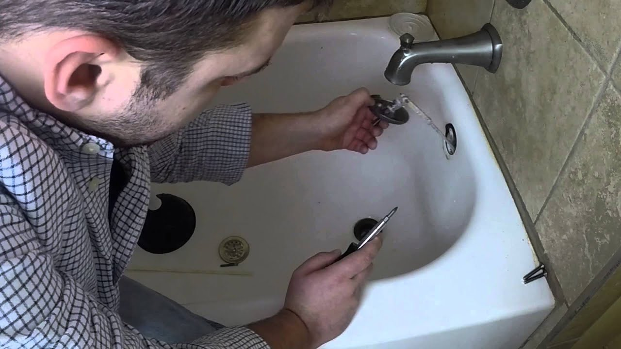 How To Unclog Your Bathtub Drain In Minutes YouTube - Bathroom sink clogged up