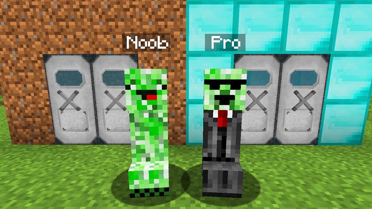 NOOB vs. MINECRAFT - CREEPER GIGANTE - YouTube