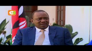 President Kenyatta  urges the opposition to allow those who want to vote , to do it peacefully