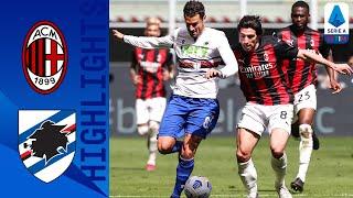 Milan 1-1 Sampdoria | Quagliarella, poi Hauge: pari tra Samp e Milan | Serie A TIM