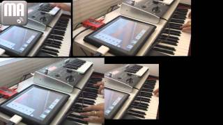 Recording audio on iPad with Behringer U-control UCA222 (MultiTrack Daw app)