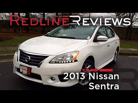 2013 Nissan Sentra Review, Walkaround, Exhaust, U0026 Test Drive