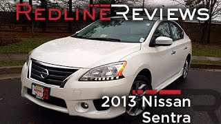2013 Nissan Sentra Review, Walkaround, Exhaust, & Test Drive