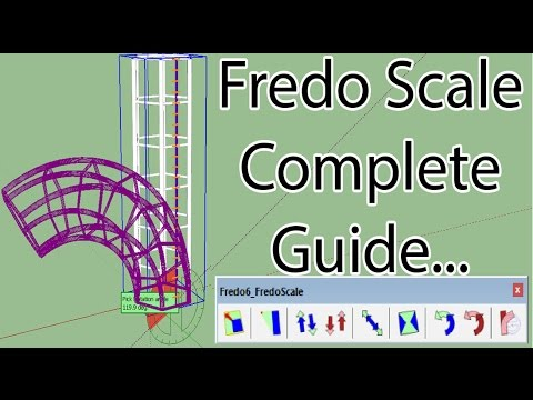 How to Use Fredoscale in Sketchup
