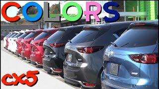 🔴 New 2017 & 2018 Mazda CX5 - Exterior Colors | Review