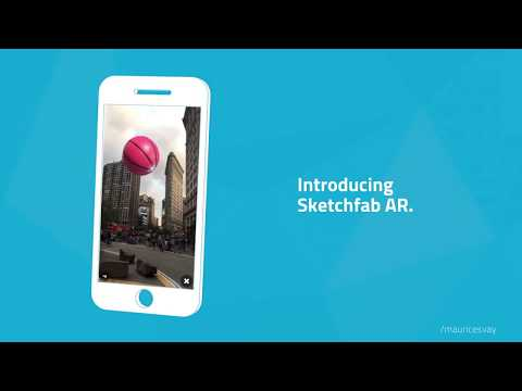 AR comes to Sketchfab on our updated iOS app