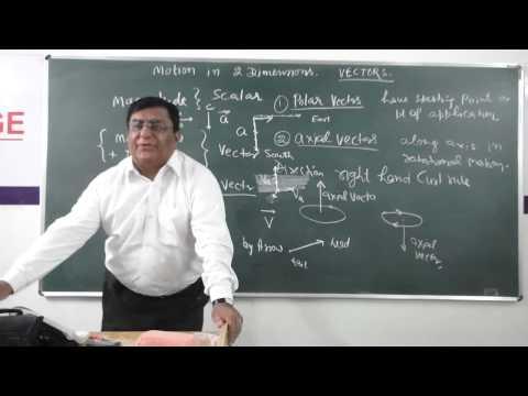 XI-4.1Vector Introduction (2014) Pradeep Kshetrapal Physics