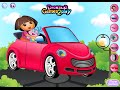 Car Dora Cleaning Games