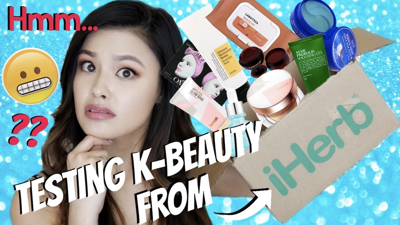 TESTING POPULAR K-BEAUTY ON iHERB     Are They Any Good?