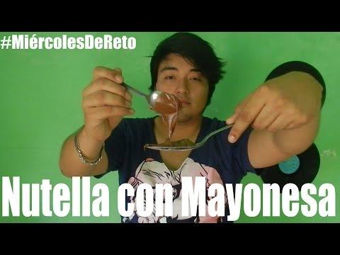 #MiércolesDeReto | Nutella con Mayonesa