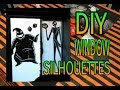 How to Make Halloween Window Silhouettes | DIY Halloween Decor