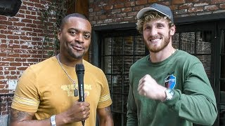 """LOGAN PAUL on HELPING Antonio Brown (NFL) Out Of """"S**T POSITION"""""""