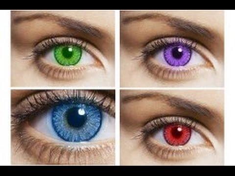 Корейские линзы УВЕЛИЧИВАЮЩИЕ глаза. Большие линзы До и После .