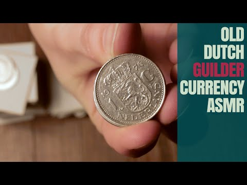 Up Close Video About Dutch Guilders - ASMR Soft Spoken Show & Tell