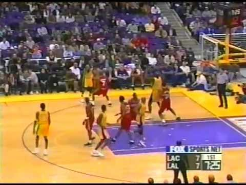 Clippers @ Lakers (lowest half score ever) - YouTube