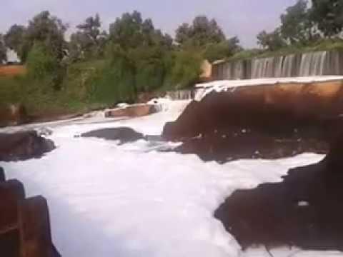 (Beautiful) Hubballi Nayagara Falls (Bidthi River), Karnataka State, India