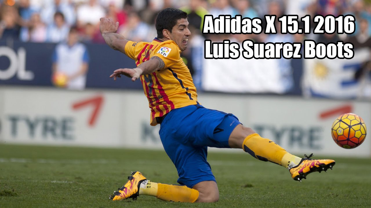 adidas x 15 1 2016 luis suarez boots youtube. Black Bedroom Furniture Sets. Home Design Ideas