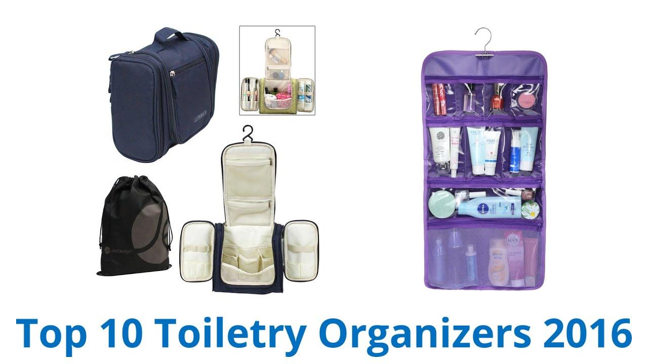 10 Best Toiletry Organizers 2016